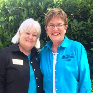 2016 - 2017 Florida District Governor Debbie Thompson and Mary Jane McMillen 2015 - 2016 Florida District Governor performed the installation.